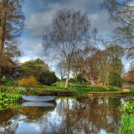 Beth Chatto Gardens by Martin Hughes - Landscapes Waterscapes