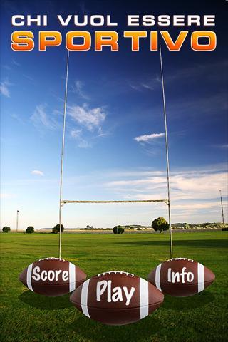 Chi vuol essere sportivo