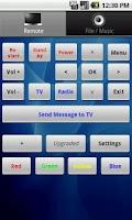 Screenshot of Dreambox Music Control