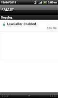 Screenshot of LowCaller International Calls