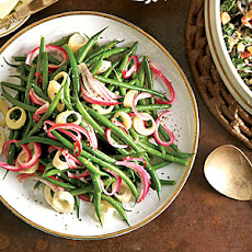 Green Bean Salad with Hearts of Palm