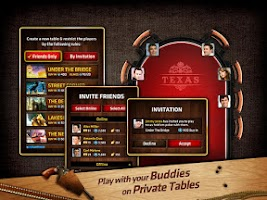 Screenshot of Vegas Poker Live Texas Holdem