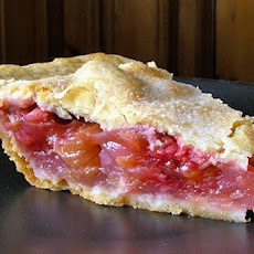 Sydney's Strawberry Rhubarb Pie