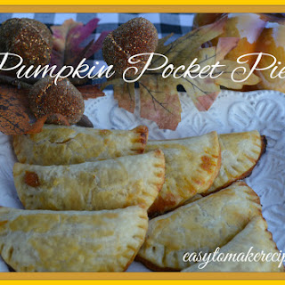 Pumpkin Pocket Pie