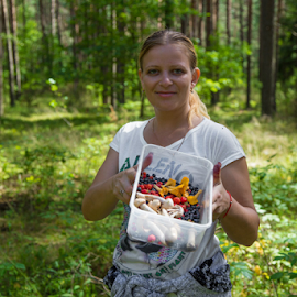 Лесное ассорти! by Lili Rozet - Nature Up Close Mushrooms & Fungi (  )
