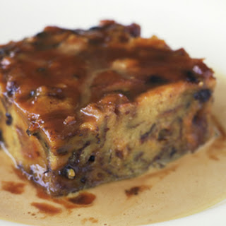 Simple Blueberry Bread Pudding