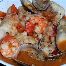 Ligurian Buridda (Italian Fish Stew)