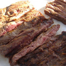 Grilled Herb Marinated Flank Steak