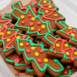 Spicy Gingerbread Cut-outs