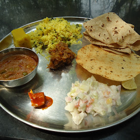 truly indian (maharashtra) taste by Deepti Rokade - Food & Drink Plated Food ( , Food & Beverage, meal, Eat & Drink )