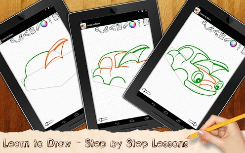 Learn to Draw Cartoon Cars - screenshot