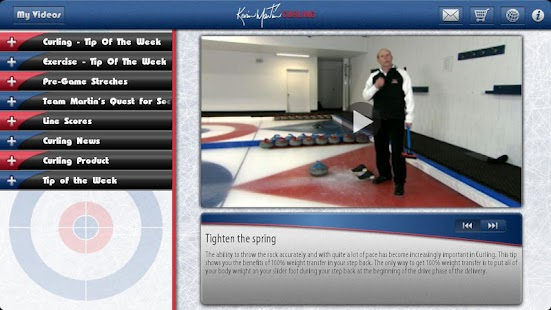 Kevin Martin Curling HD - screenshot