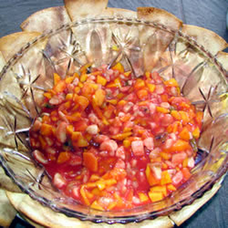 Sweet Salsa and Cinnamon Chips