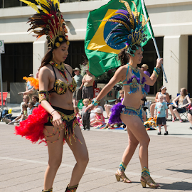 Caribbean Arts Festival by Joseph Law - News & Events Entertainment ( parade, very skill and good dancers, 30th  annual, in edmonton city, arts festival, caribbean )