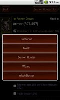 Screenshot of Diablo3 Item Surveyor