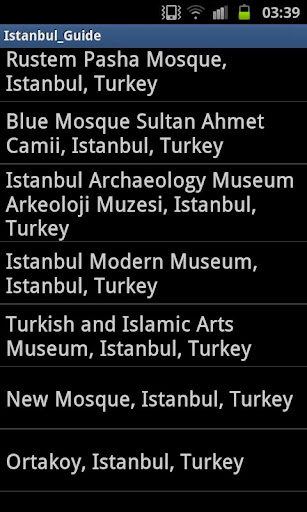 玩免費旅遊APP|下載イスタンブール地図ツアー app不用錢|硬是要APP