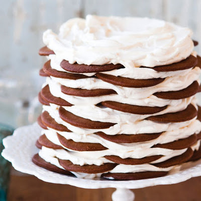 Gingerbread Icebox Cake with Mascarpone Mousse