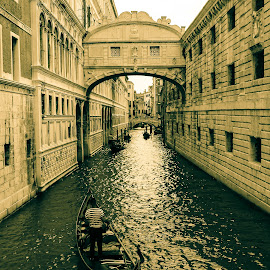 by Alice Lustah - Buildings & Architecture Public & Historical ( water, architecture, boat, man )