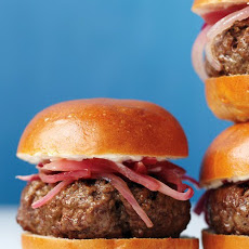 Bistro Sliders with Pickled Onions