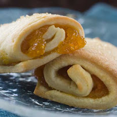 Gluten Free Apricot Cream Cheese Roll Ups