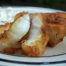 Secret Fried Halibut
