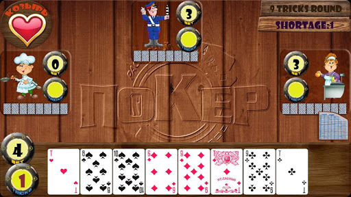 Card game Poker raspisnoy - screenshot