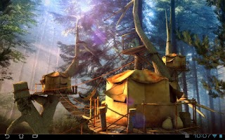 Screenshot of Tree Village 3D Pro lwp