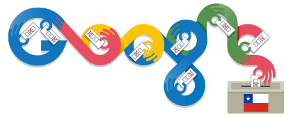 Google Doodle Chile Election Day 2013