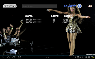 Screenshot of Ultimate Beyoncé Quiz