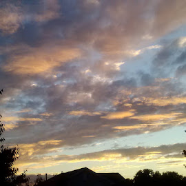 by Donna Schmidt - Landscapes Cloud Formations
