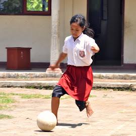 GIRLS SOCCER by Purnomo Beach - Sports & Fitness Soccer/Association football (  )