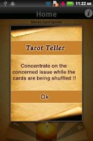 Screenshot of Tarot Teller