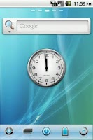 Screenshot of AERO 8 GO Launcher Theme
