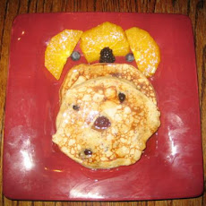 Double Berry Orange Buttermilk Pancakes