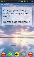 Screenshot of Pearls of Wisdom - Quotes