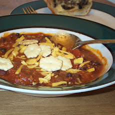 Turkey Chili (High Fiber, Low-Calorie and Low-Fat)