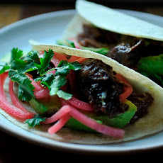 Barbacoa Beef Cheek Tacos