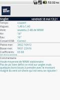 Screenshot of Surf Report OSR France