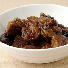 Beef Tagine with Dried Plums and Toasted Almonds