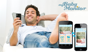 Screenshot of MyBabyMonitor Video-Audio Lite
