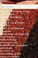 Screenshot of Riso e Risotti ricette free