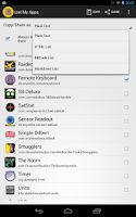 Screenshot of List My Apps