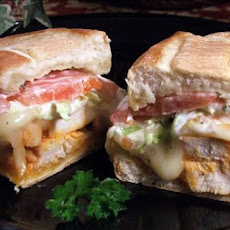 Buffalo Wing Garlic-Toasted Hoagies!