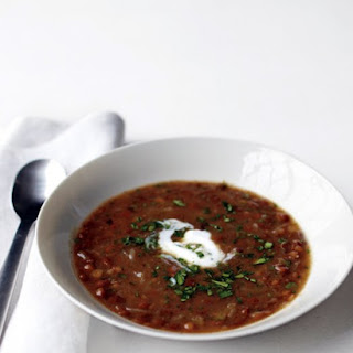 Caramelized Onion and Lentil Soup