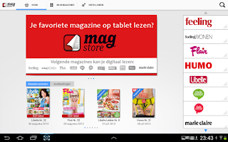 Screenshot of MagStore be
