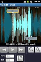 Screenshot of MP3 MUSIC CUTTER