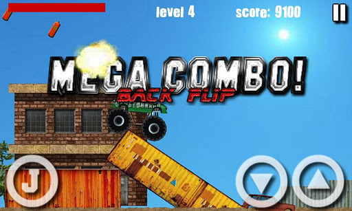 truck-demolisher-lite for android screenshot