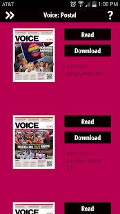 CWU Voice - screenshot