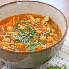 Moroccan Chicken Soup