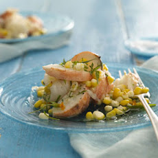 Lobster and Corn Salad With Tarragon Vinaigrette